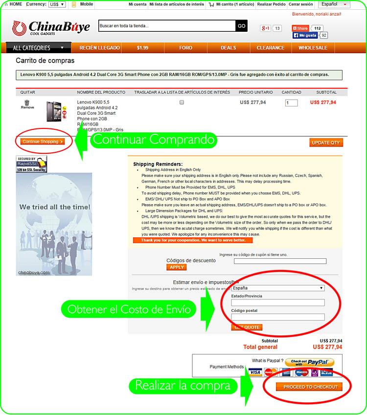 comprar en china por internet