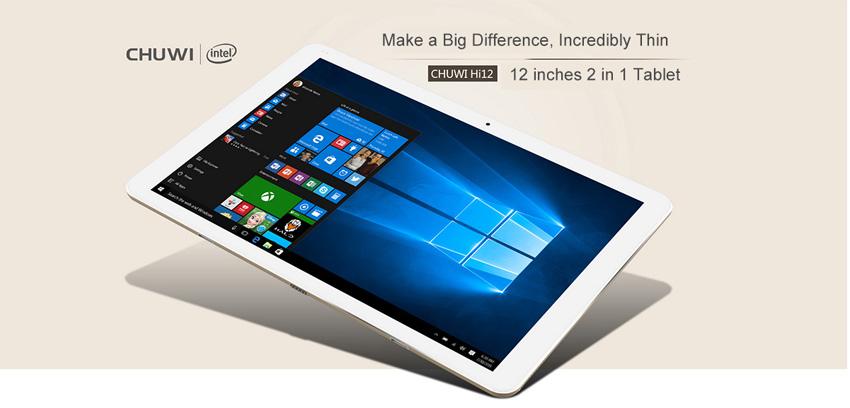 Chuwi i12 tablets chinas las mejores