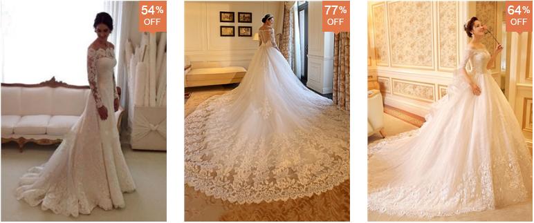 5 Tiendas de Vestidos de Novia Baratos para Comprar por Internet
