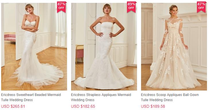 Las mejores tiendas de vestidos de novia